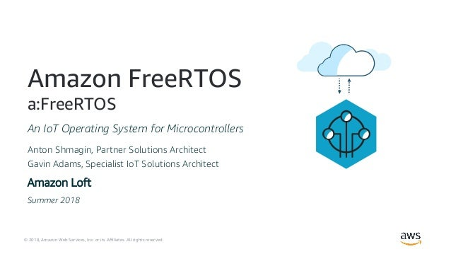 AWS Espressif Amazon FreeRTOS