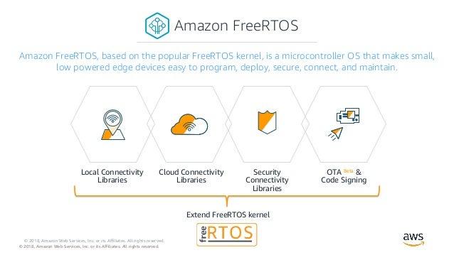 AWS Espressif Amazon FreeRTOS