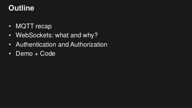 Building Powerful IoT Apps with AWS IoT and Websockets Slide 2