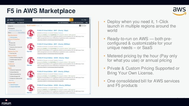 The new Normal - AWS at F5 Forum