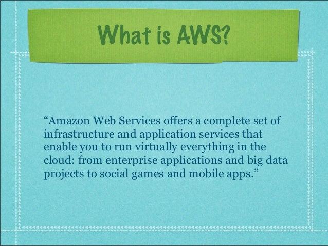 Amazon Web Services Slide 2