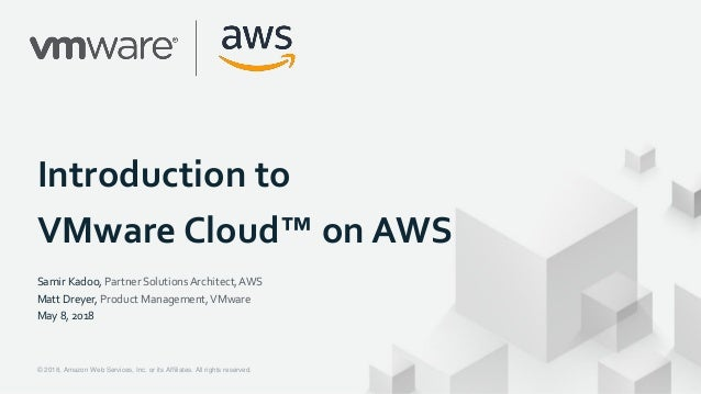 Introduction to vmware cloud on aws.