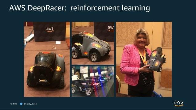 © 2019 @Sandy_Carter AWS DeepRacer: reinforcement learning