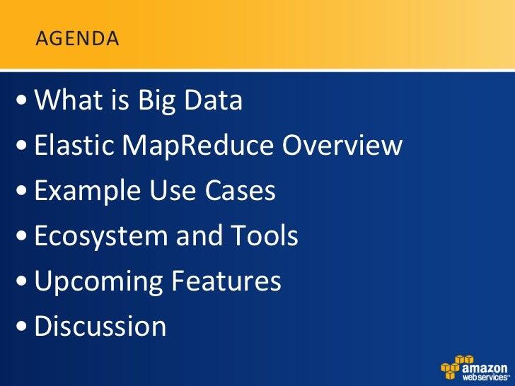 Amazon Elastic MapReduceの紹介(英語) Slide 3