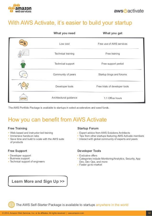 AWS Startup Details Slide 2