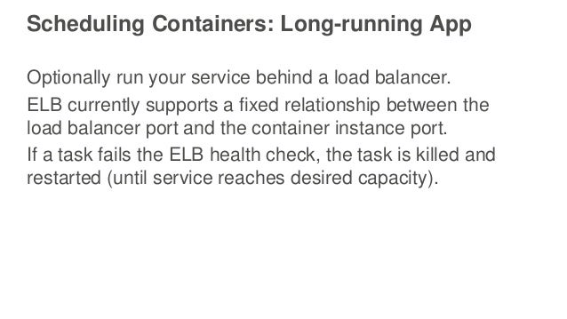 Running microservices on amazon ecs aws april 2016 for Consul load balancing