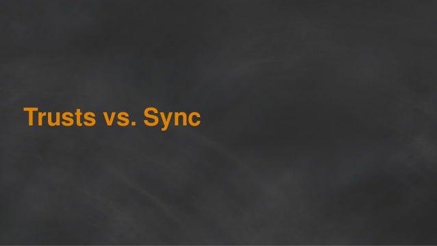Trusts vs. Sync