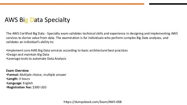 aws big data specialty exam questions