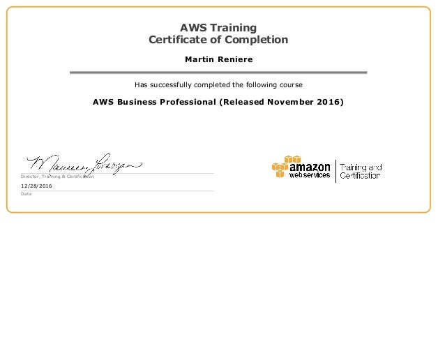 AWS -- Certification Search
