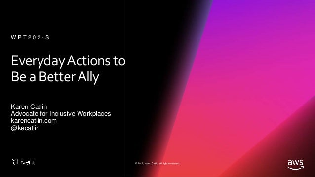 Everyday Actions to Be a Better Ally Slide 2