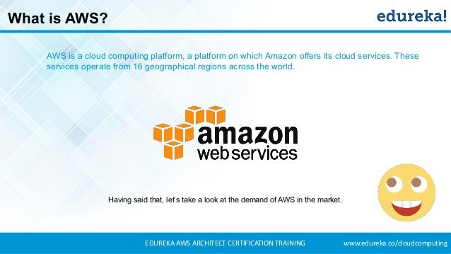 aws certification aws architect certification training