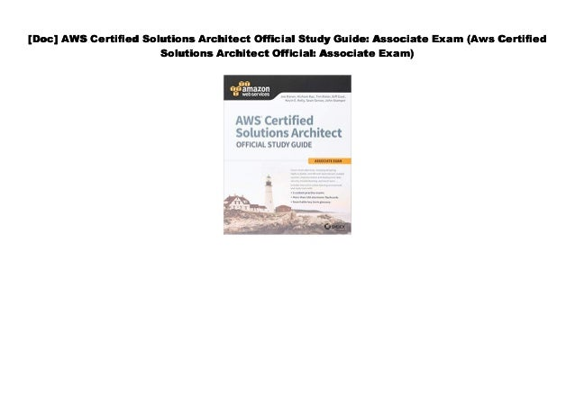 PDF] AWS Certified Solutions Architect Official Study Guide