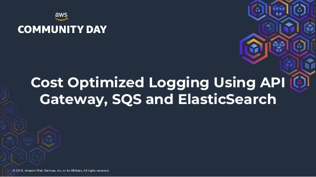 Aws cost optimized logging using api gateway, sqs and elastic search