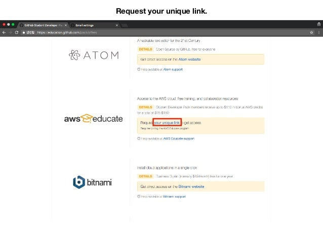 How to get AWS student credit