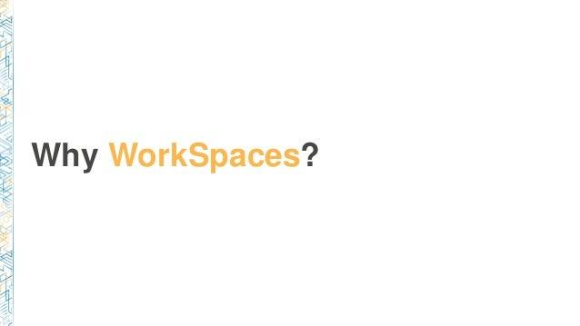 Why WorkSpaces?