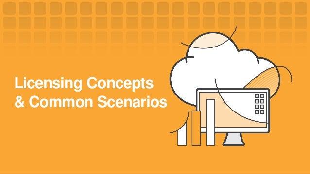 Licensing Concepts & Common Scenarios