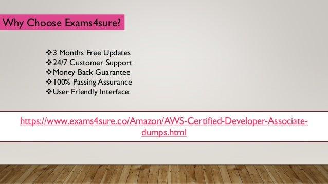 Visual AWS-Developer Cert Exam