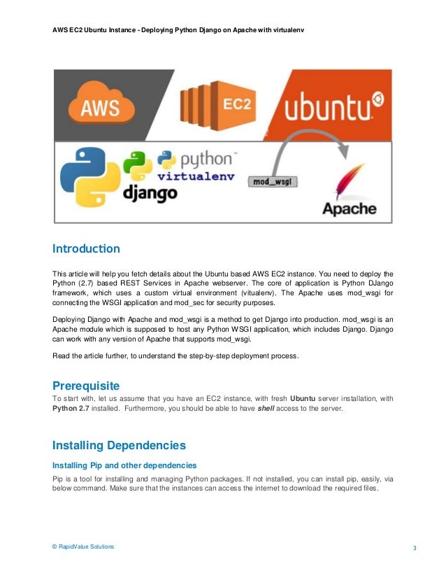 AWS EC2 Ubuntu Instance - Step-by-Step Deployment Guide