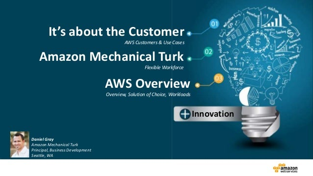 AWS featuring Mechanical Turk_for Automotive_2014 Slide 2