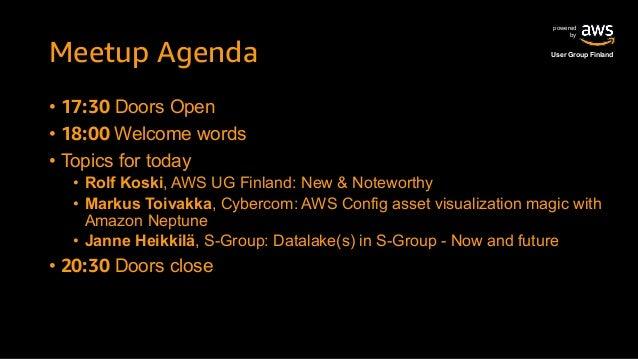 AWS Finland Meetup 2019 October Slide 2