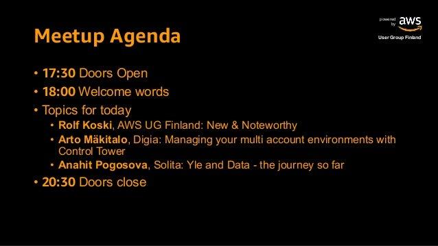 AWS Finland Meetup 2019 September - sponsored by Digia Slide 2