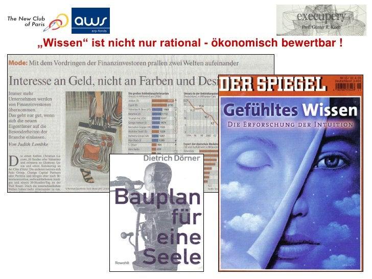 Zur Messbarkeit von Wissensvermögen                                                             (nach Göran Roos, © Assets...