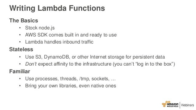 how to call an aws lambda function externallly
