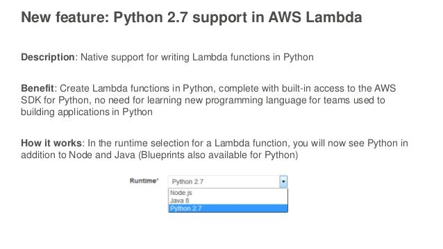 lambda in python