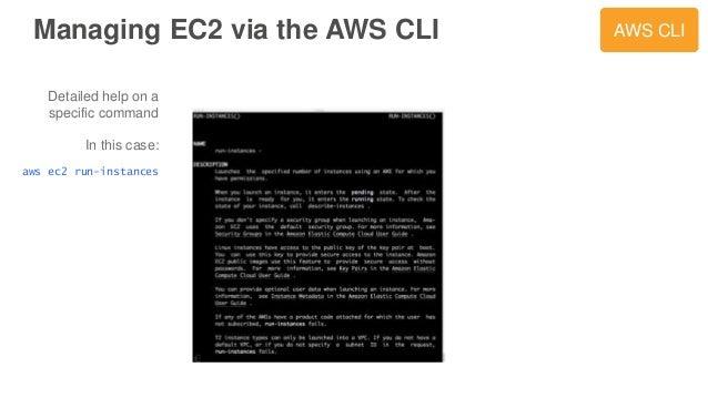 AWS March 2016 Webinar Series - Amazon EC2 Masterclass