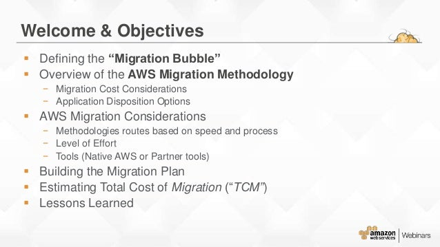 AWS Migration Planning Roadmap Slide 2
