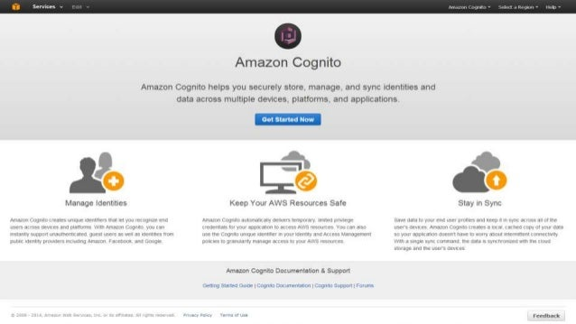 Identitypool Identity Providers Pool of identities that share the same trust policy Access Policy Access to AWS Services i...