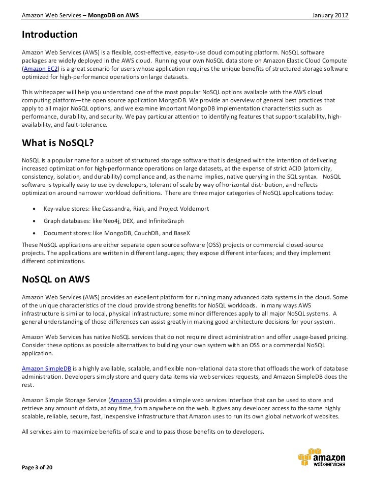 20page 2 of 20 3 aws resume points