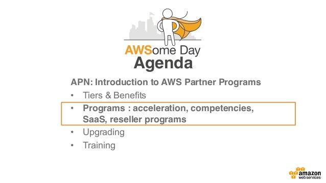 Premier Advanced Standard Registered Delivery Model ExpertiseExperiencePartner Type AWS Partner Programs Channel Programs ...