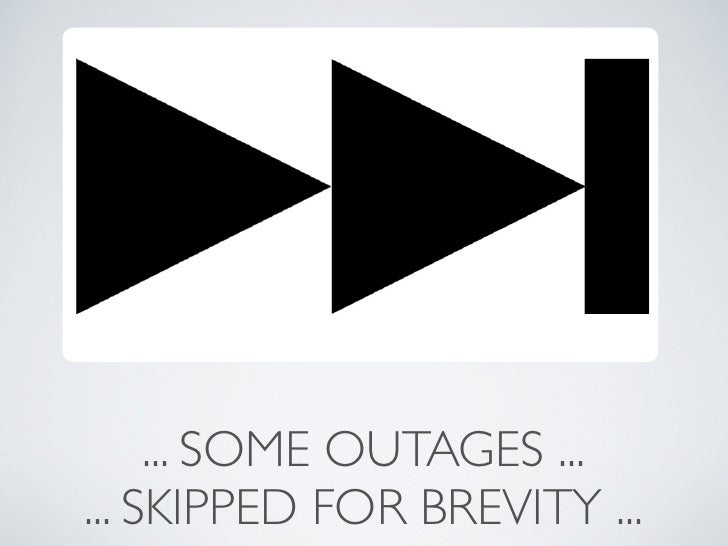 ... SOME OUTAGES ...... SKIPPED FOR BREVITY ...