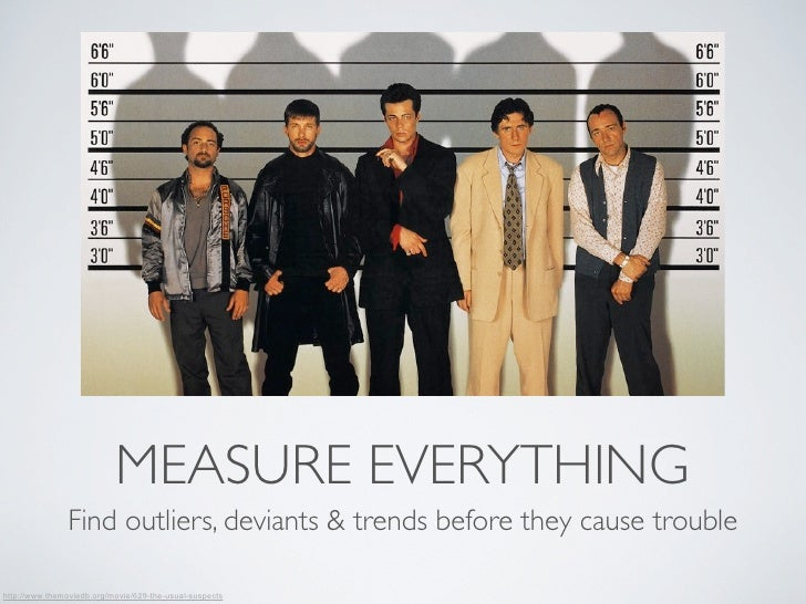 MEASURE EVERYTHING                Find outliers, deviants & trends before they cause troublehttp://www.themoviedb.org/movi...