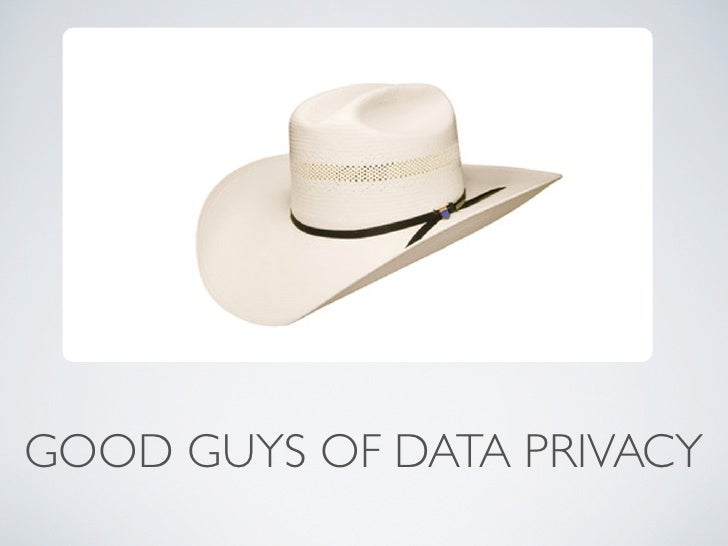 GOOD GUYS OF DATA PRIVACY