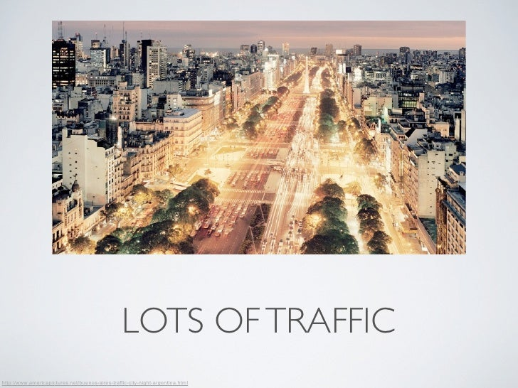 LOTS OF TRAFFIChttp://www.americapictures.net/buenos-aires-traffic-city-night-argentina.html