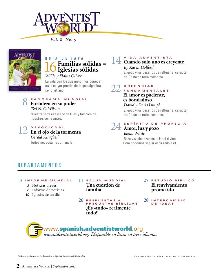 Revista Adventista 2012  Slide 2