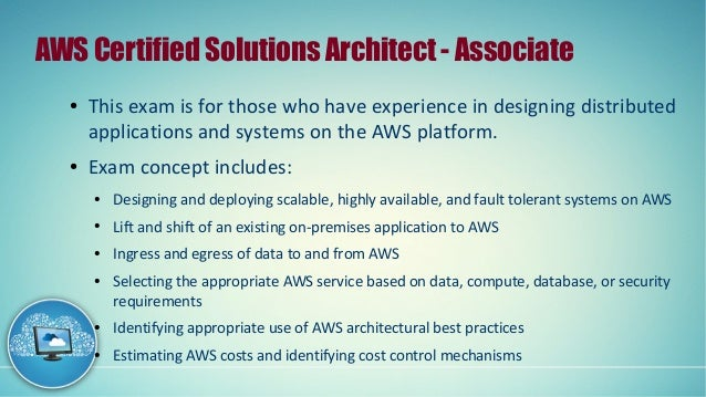 Become The AWS Certified Solution Architect Associate