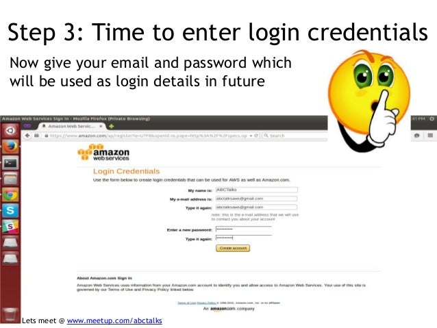 AWS Registration Process