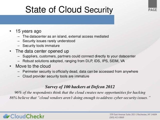 AWS Meet-up San Francisco: Cloud Security