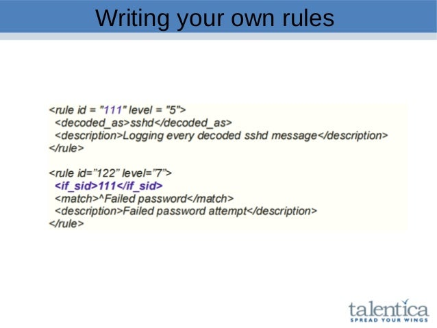 Writing your own rules