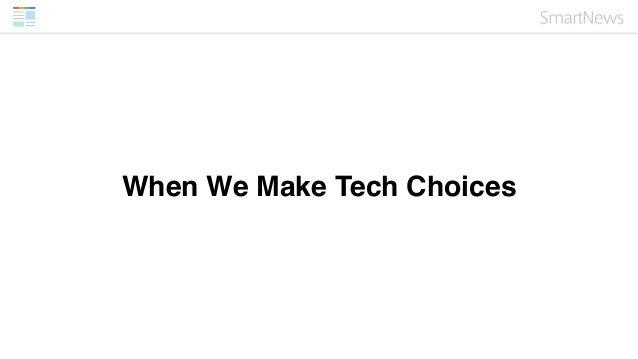 "• Speed (50ms MAX latency • Availability • Scalability • Operationally ""Raku"" • Decouple-able • People-Friendly (Engineers..."