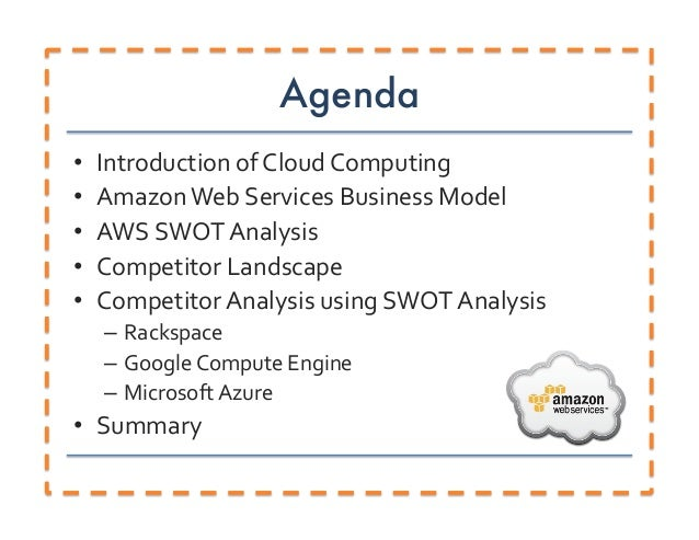 Amazon Web Services SWOT Competitor Analysis