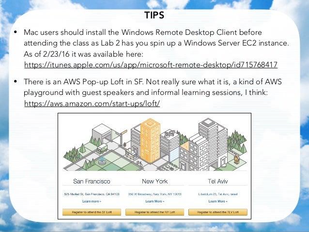 aws technical essentials training pdf