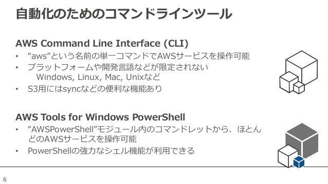 AWS Tools for Windows PowerShell