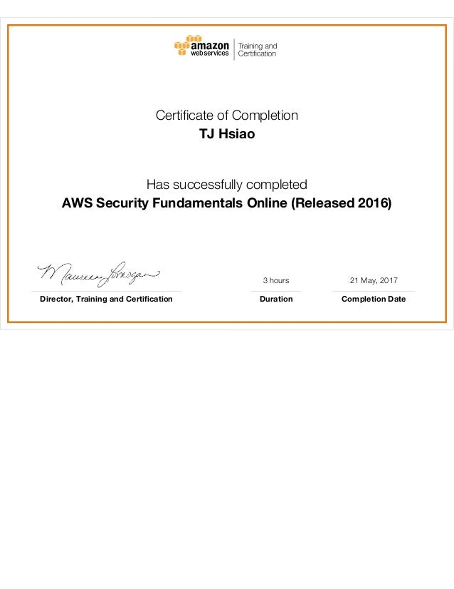 Aws Training Certification