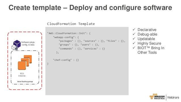 AWS May Webinar Series - Deep Dive: Infrastructure as Code