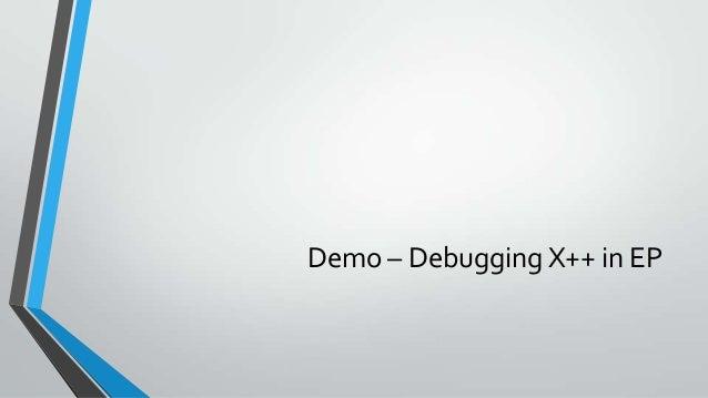 Demo – Debugging User controls on EP