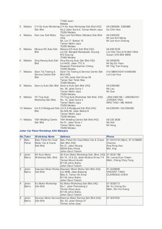 AXA Smart Drive Motor Insurance and Car Repairer Panel ...